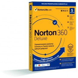Norton 360 Deluxe 5D/12M...