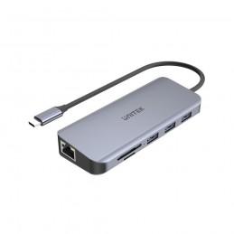 UNITEK HUB USB-C 3XUSB 3.1,...