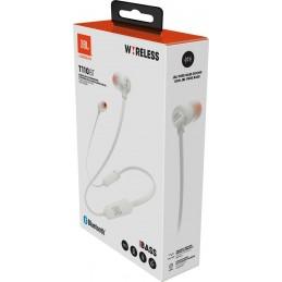 Słuchawki JBL T110BT Białe...